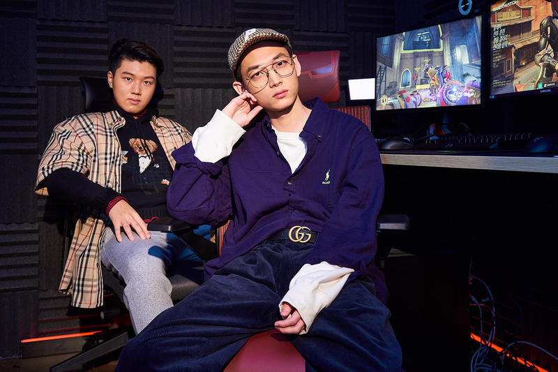 Seoul Dynasty Overwatch Pro Gaming League Champions Je Hong Ryu Jun Hyeok Kim Byung Sun Kim Chan Hyung Baek Jin Mo Yang