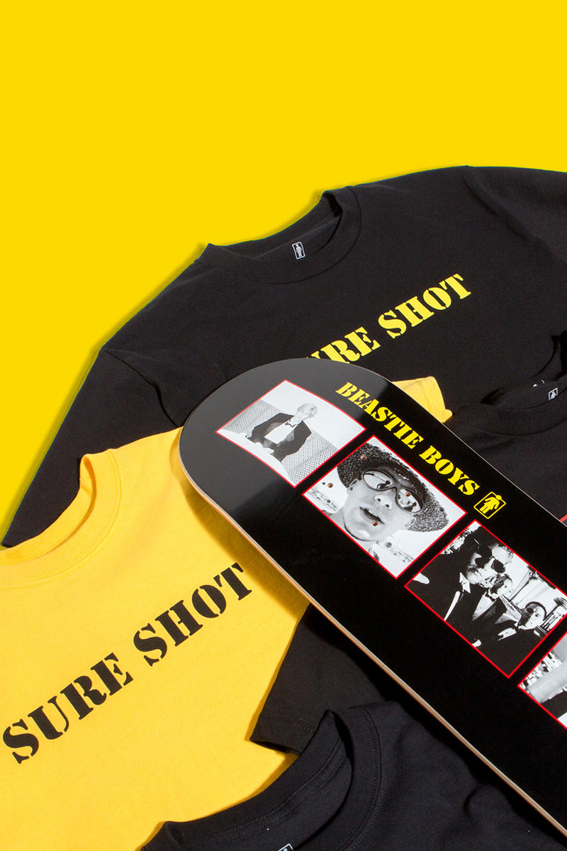 Girl skateboards beastie boys spike jonze collaboration capsule collection tee shirt long sleeve short skate deck board sabotage sure shot imagery photograph behind the scenes black white drop release date info november 16 2018