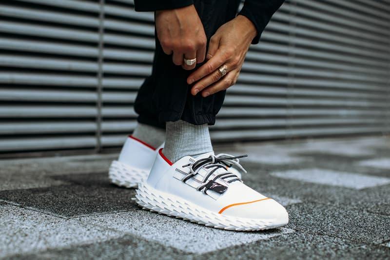 Giuseppe Zanotti Urchin Sneaker Release 2018 Black White