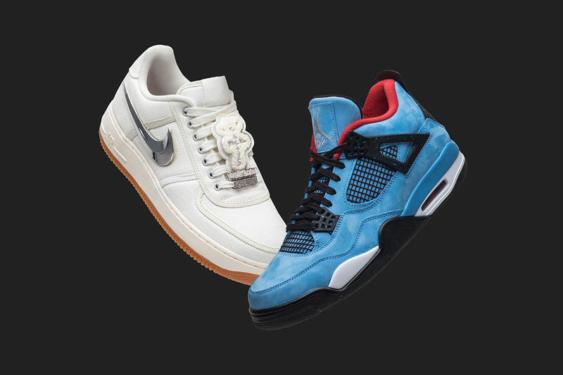goat travis scott pack black friday giveaway event cactus jack air jordan 4 collaboration air force 1 low swoosh november 23 2018 drop release date info 1000 dollar usd gift card prize app update sail 10.5 size
