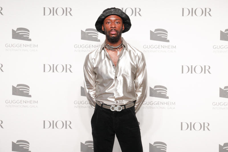 Goldlink's Dior Grooming for Guggenheim Gala Event
