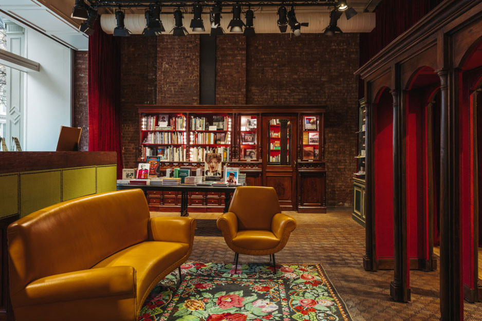 Inside the Gucci Wooster Bookstore