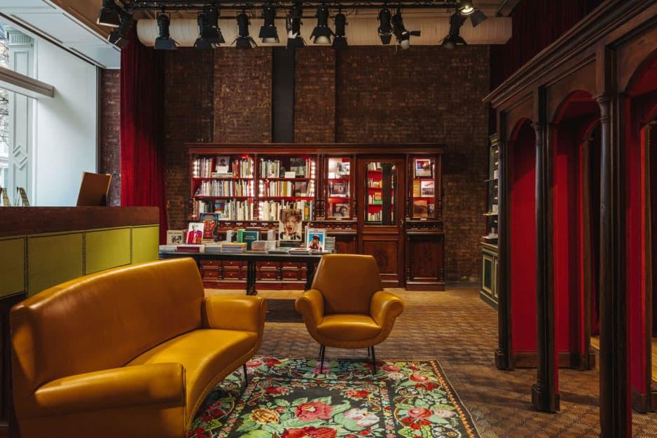 Risultati immagini per Gucci Opens A New Gucci Bookstore in NY FOTO