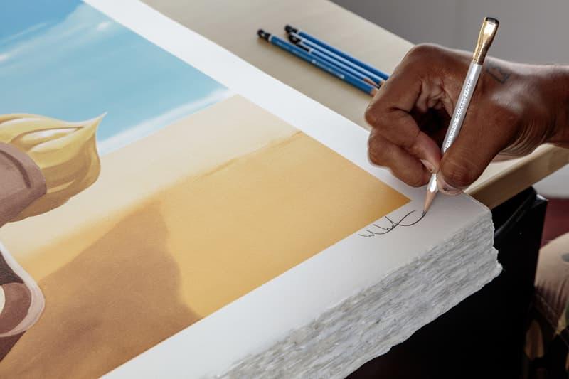 hebru brantley boy on rocket lithograph galerie des bains print them all artworks for sale artist