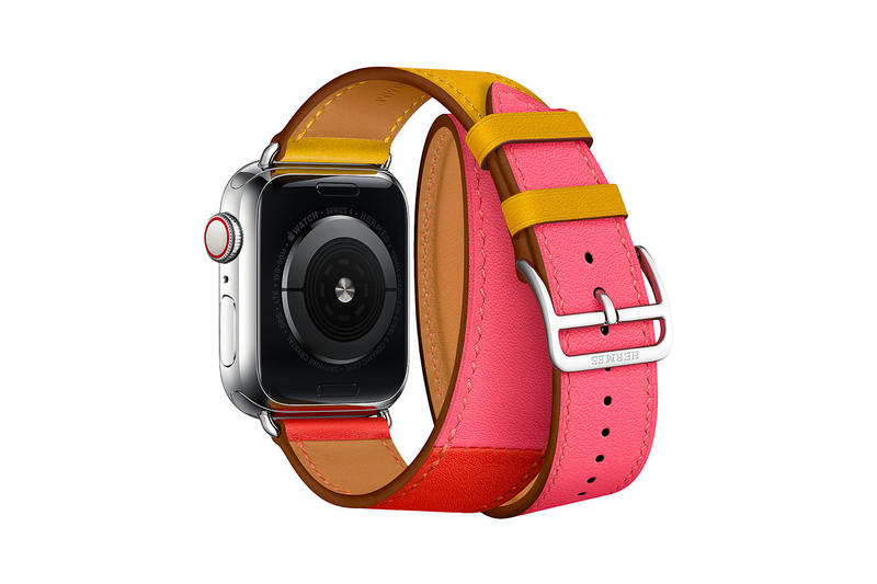 Hermès Apple Watch Series 4 Straps 2018 price colors new leather premium tech accessory luxury double tour single tour