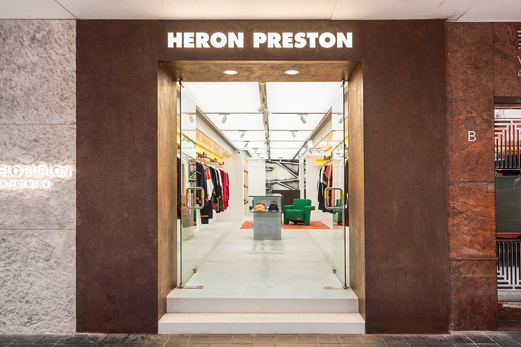 2ba93a925c Go Inside Heron Preston s First-Ever Flagship Store