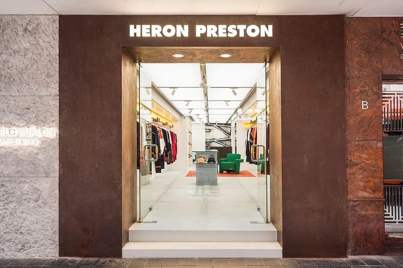 ea3c9857d6a0 heron preston flagship store hong kong november 29 2018 open debut launch  shop storefront