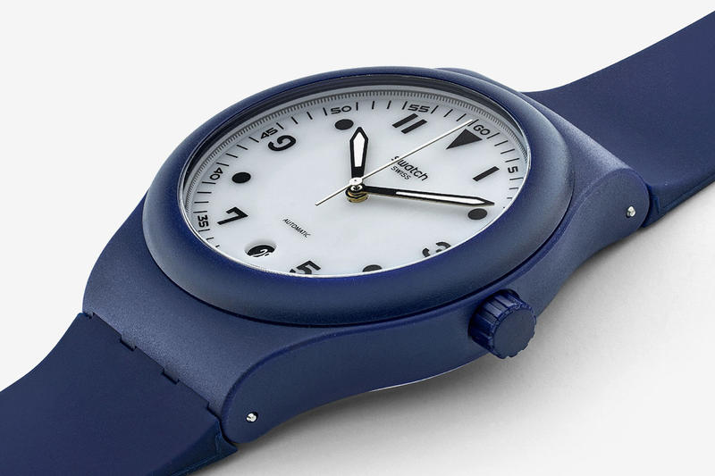 "HODINKEE x Swatch ""Sistem51 Blue"" Collaboration timepiece watches release date price watch accessories"