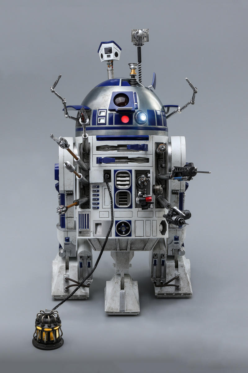 Hot Toys R2-D2 Deluxe Version Release toys figures action figures star wars Lucasfilm Star Wars galaxy,