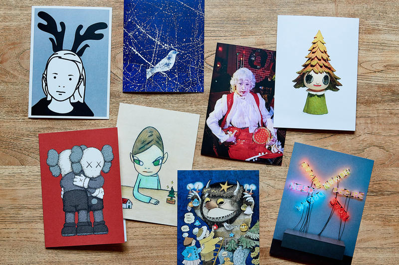 moma design store artist holiday cards giveaway hypebeast art