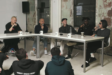 Hiroshi Fujiwara, Errolson Hugh, Matthew M. Williams, Nigel Sylvester & John Elliott Talk Collabs With jeffstaple for HYPETALKS
