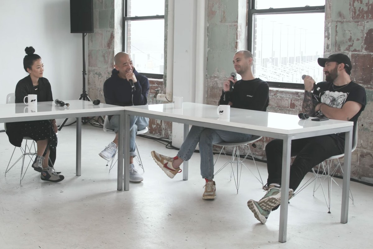 jeffstaple Hosts HYPETALKS With Sophia Chang & Members of THE BRILLIANCE!