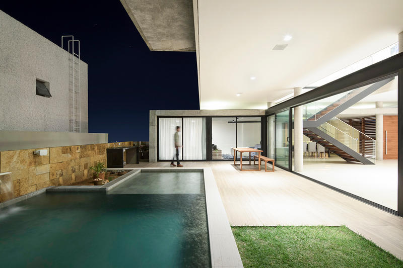 IF House Martins Lucena Arquitetos Brazil Modern Interior Exterior Design Houses Homes Architect Architecture Architectural Swimming Pool Garden