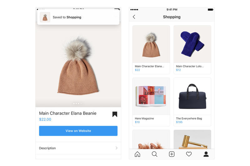 Instagram Users Shop Items Video Posts Shopping Collection business page explore products items