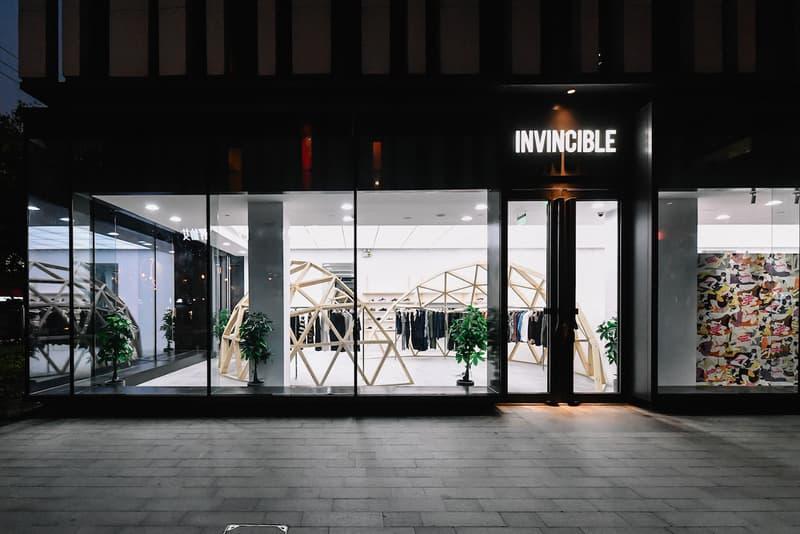 invincible shanghai store opening wacko maria collaboration fashion style streetwear shoes kicks apparel clothing