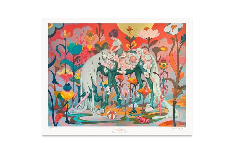 james jean traveler time limited edition print artworks release art