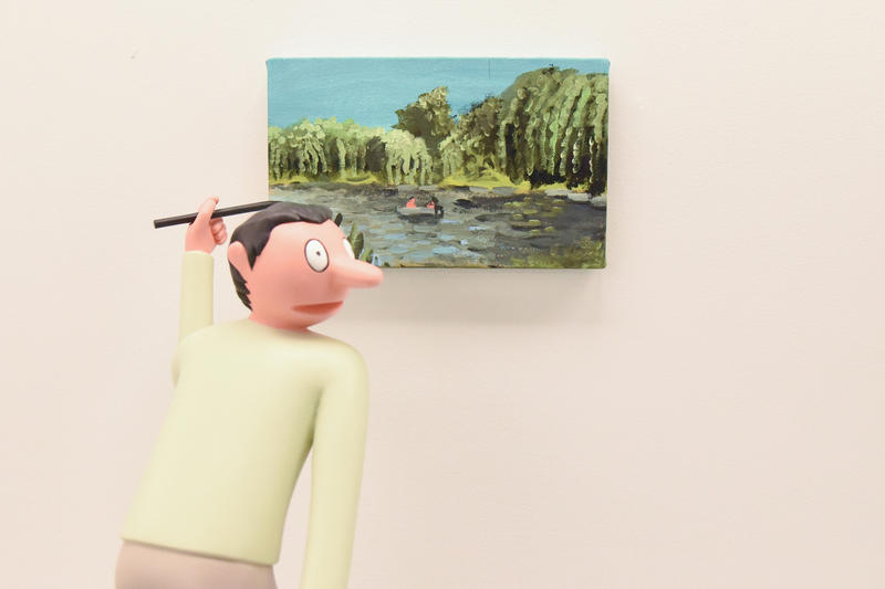 Jean Jullien GIB Exhibit Arsham Fieg Gallery