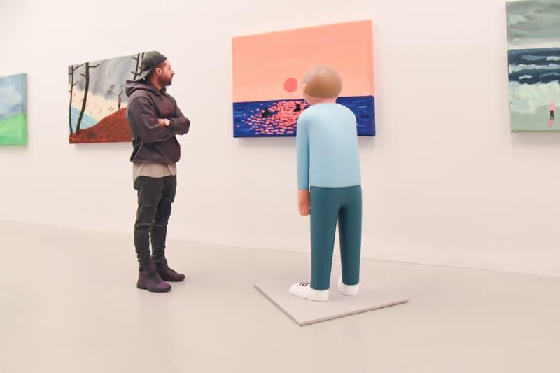 jean jullien gib exhibition arsham fieg gallery artworks paintings artists