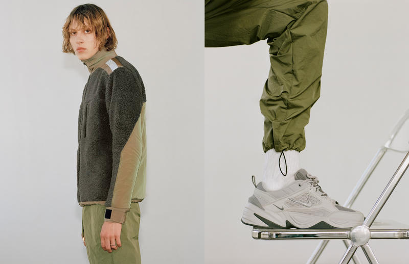 John Elliot Pre SS19 Collection Nike M2K Tekno LeBron James Icon jacket pants T shirts hoodie Sweater M.A.R.S. Suicoke Blackmeans