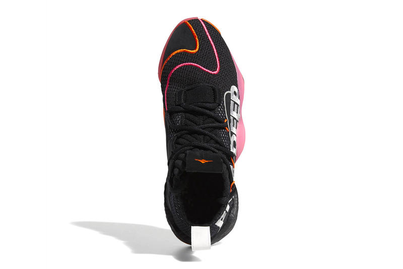 "John Wall adidas Crazy BYW X PE ""Wall Way"" Official Imagery release public general sneaker black pink orange player edition"