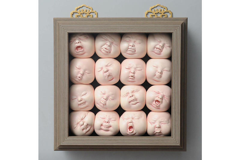 johnson tsang figurative distortions sculptures artworks art