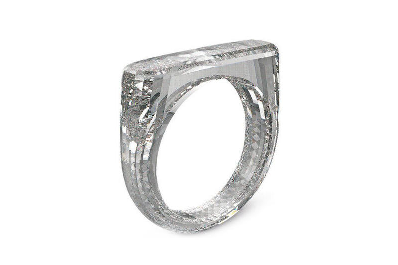 Jony Ive Marc Newson RED Diamond Foundry Sotheby's Auction jewelry diamonds luxury design rings accessories