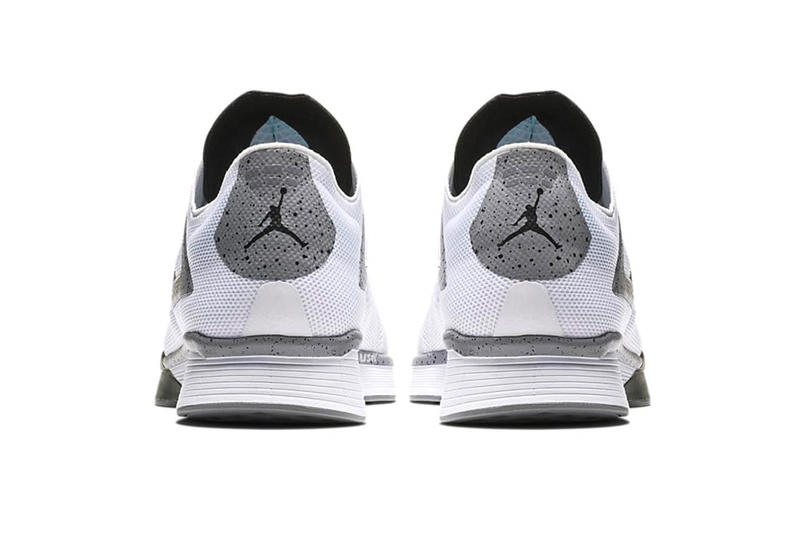Jordan 89 Racer White Cement Release Info Date runner running jordan brand sneaker colorway first look