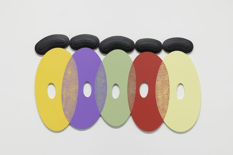 "Josh Sperling ""Two Purple Tigers"" Galerie Perrotin Seoul exhibition artwork south korea sculpture painting duration"