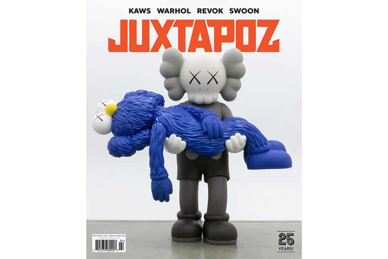 Juxtapoz magazine kaws cover issue andy warhol haroshi swoon icy sot