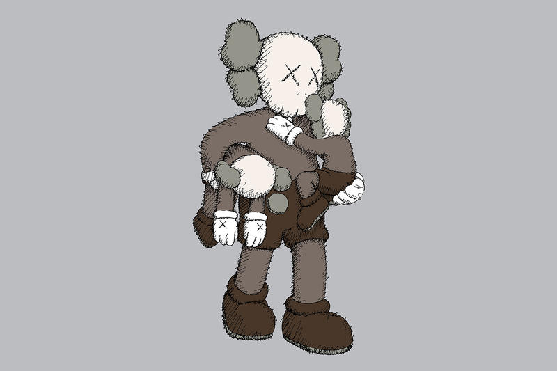 kaws clean slate companion figure release artworks collectibles