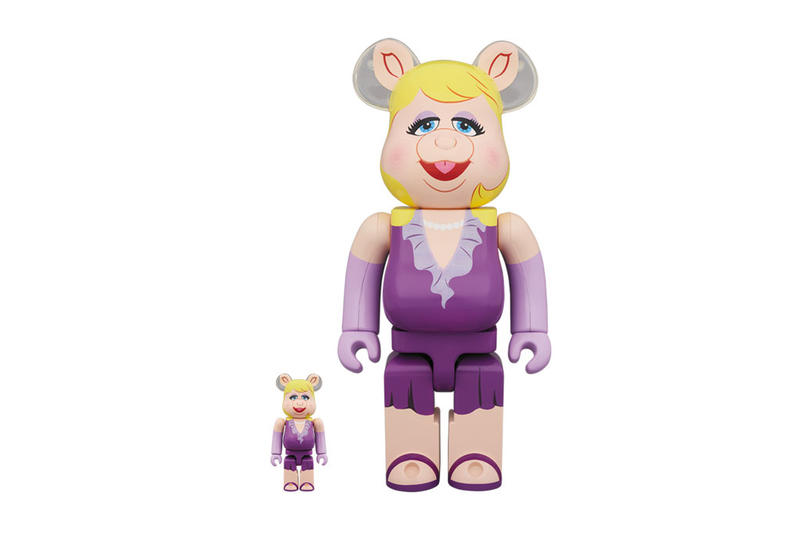 Medicom toy BE@RBRICK Kermit the Frog Miss Piggy 1000% 400% bearbricks collectibles release date info price purchase