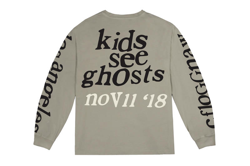 4ec98e8a4ba1 Kids See Ghosts Camp Flog Gnaw 2018 Merch Release Info Kid Cudi Kanye West  Hoodie T