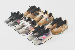 KITH x New Balance Reveal Six Colorways in Upcoming Collaboration