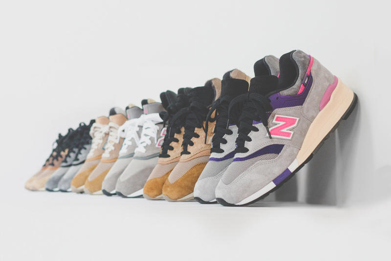 KITH New Balance United Arrows and Sons nonnative 2018 Collection