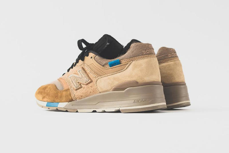 KITH x nonnative x New Balance 997 Sneaker Early Release Ronnie Fieg united arrows