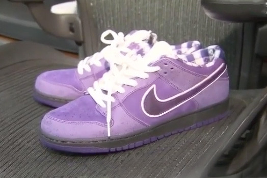 Kyrie Irving Shows Off his CNCPTS x Nike SB Dunk Low