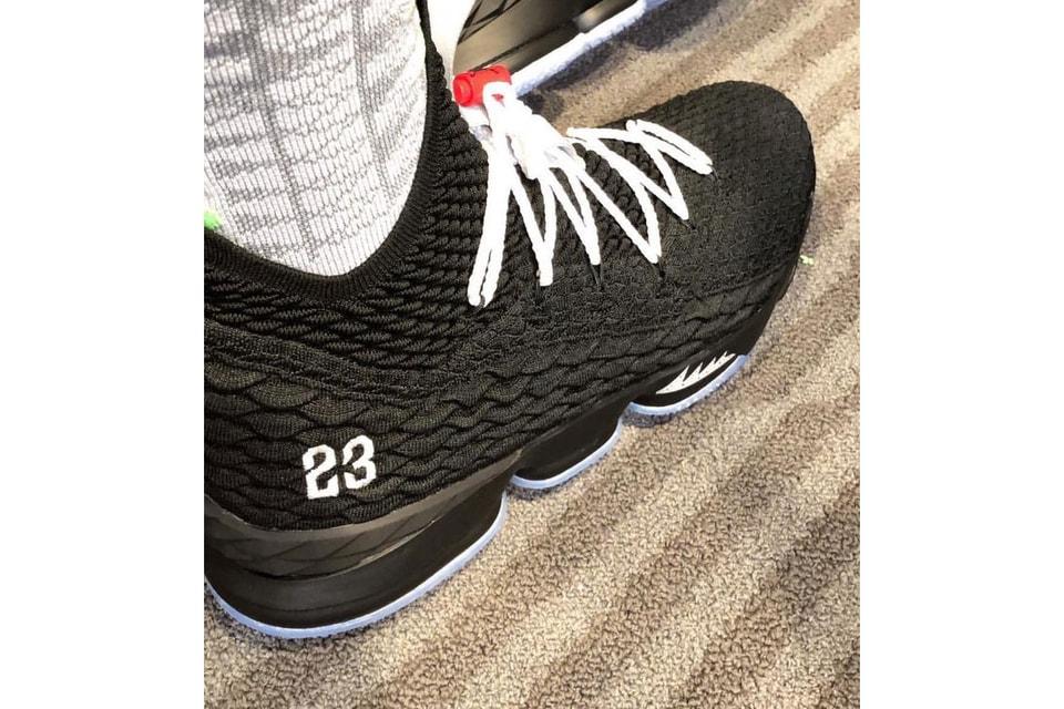 LeBron James Reveals Air Jordan 5-Inspired Nike LeBron 15 PE a34b9ad2c