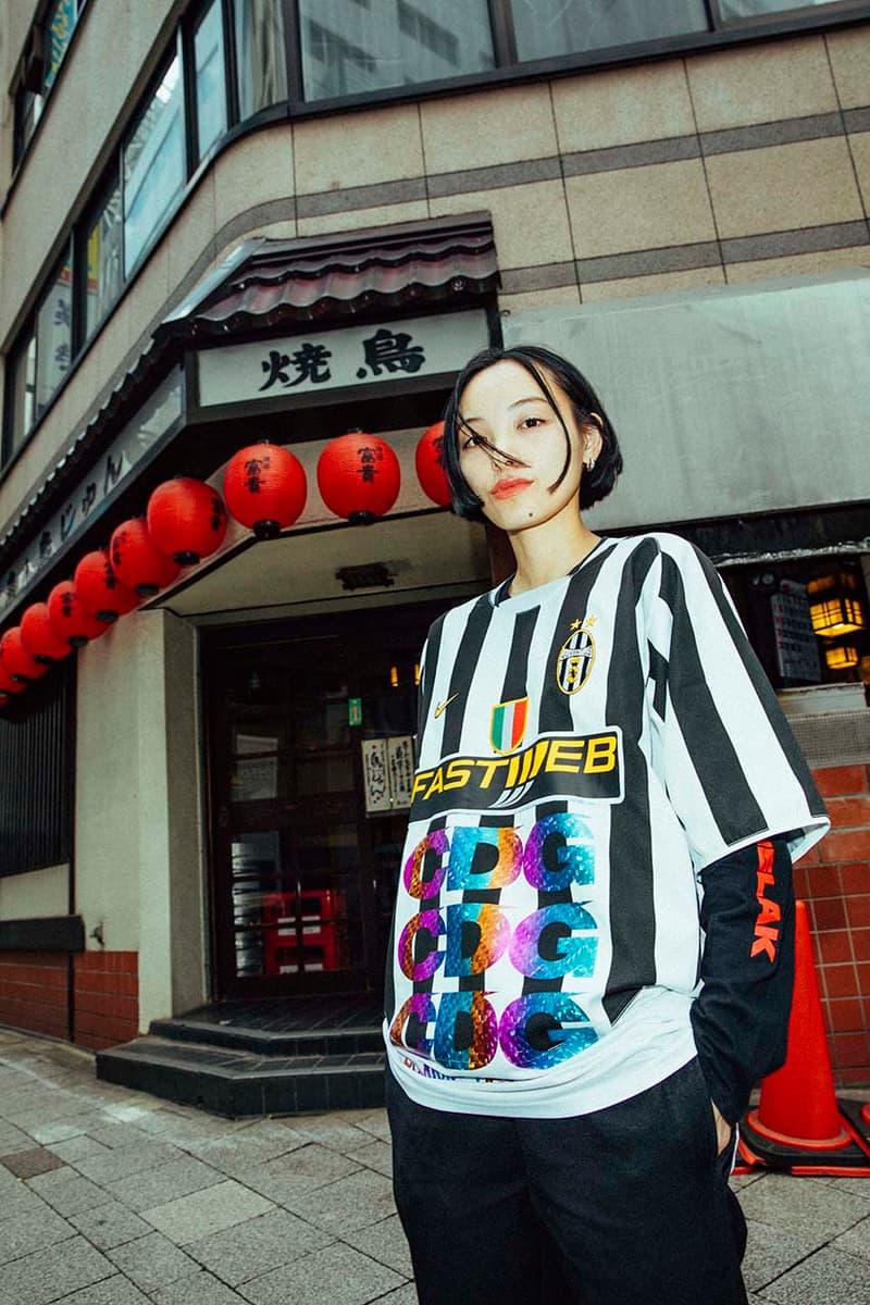 Les Vêtements de Football Fall/Winter 2018 Editorial Lookbook Fashion Clothing Comme Des Garçons toyko football soccer