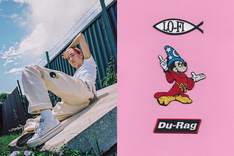 Lo-Fi x Stan Ray Collaboration Lookbook Mickey Mouse Patchwork DIY