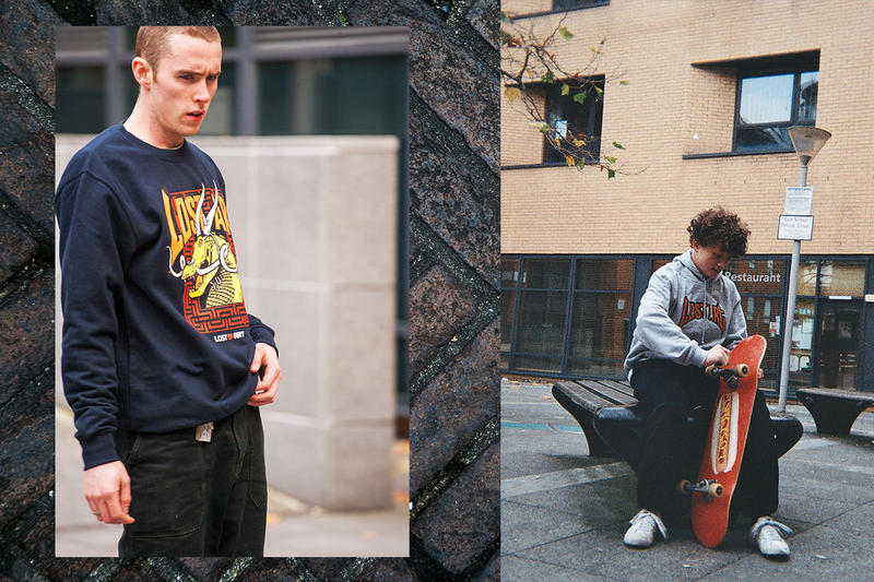 Lost Art Winter 2018 Lookbook Fashion Clothing Cop Purchase Buy Liverpool Skating Skateboarding Release Details News