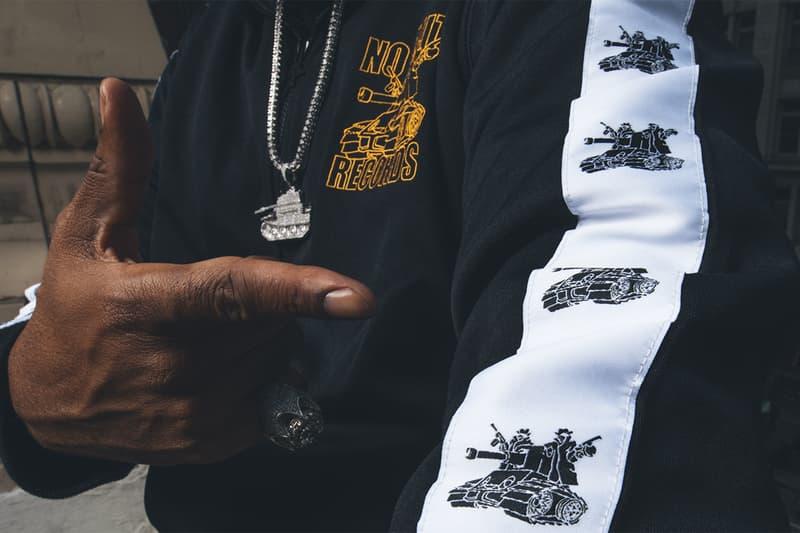 Master P LRG x No Limit Records Collaboration mr ice cream man album cover tanks tank soliders army diamond gold