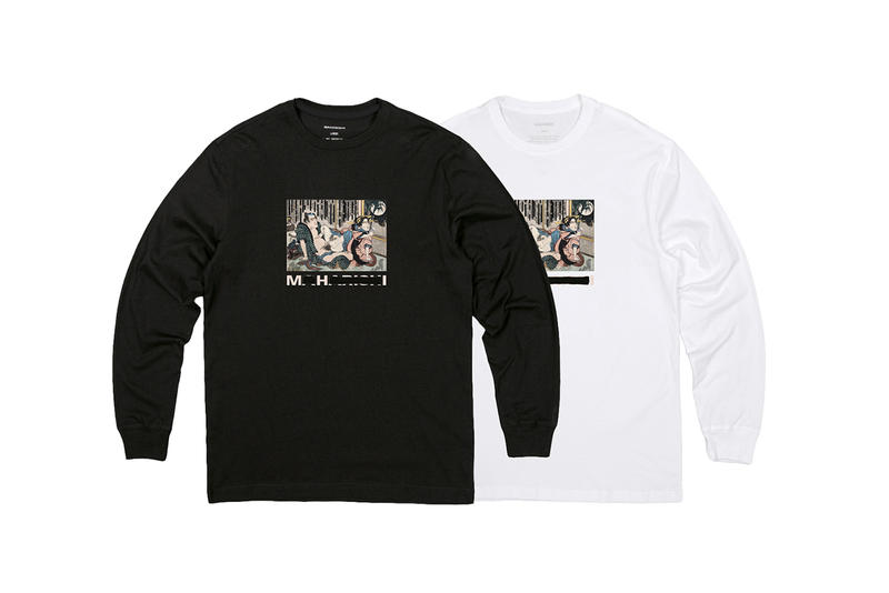 "maharishi ""Graphic Duality"" Fall/Winter 2018 Collection Details Fashion Clothing Cop Purchase Buy Hokusai Shunga Japanese Art"