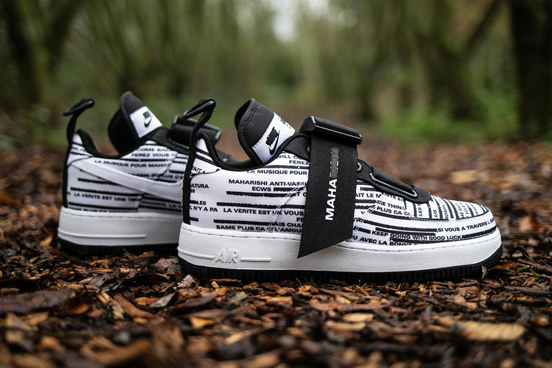 maharishi x Nike Air Force 1 Bowfin Collab First Closer Look Collaboration Collaborations Collections Sneakers Kicks Shoes Trainers Footwear Cop Purchase Buy Available Coming Soon