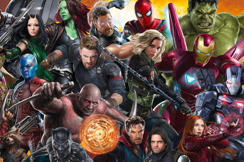 Marvel Finally Shares Official MCU Timeline marvel studios avengers spider man the hulk iron man