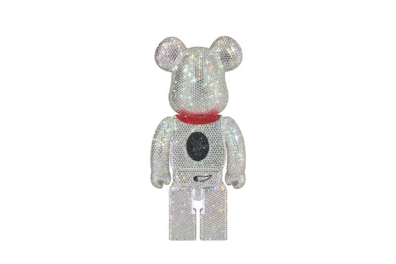 Medicom Peanuts Crystal Snoopy Bearbrick Info crystals Swarovski Japan Medicom Toy