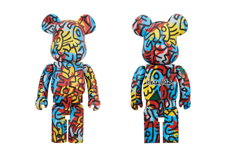 medicom toy bearbrick andy warhol keith haring designercon vinyl figures collectibles artworks artists collaborations