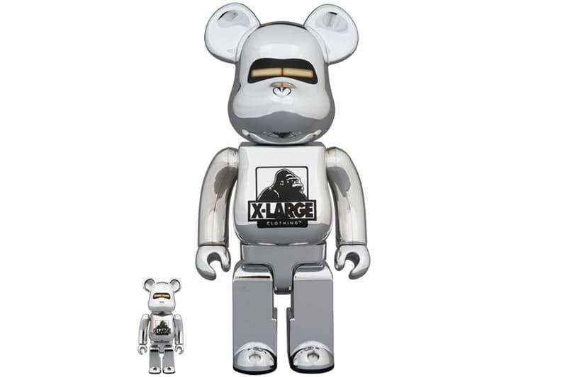 Medicom Toy XLARGE Hajime Sorayama BE@RBRICK Bearbricks Robot