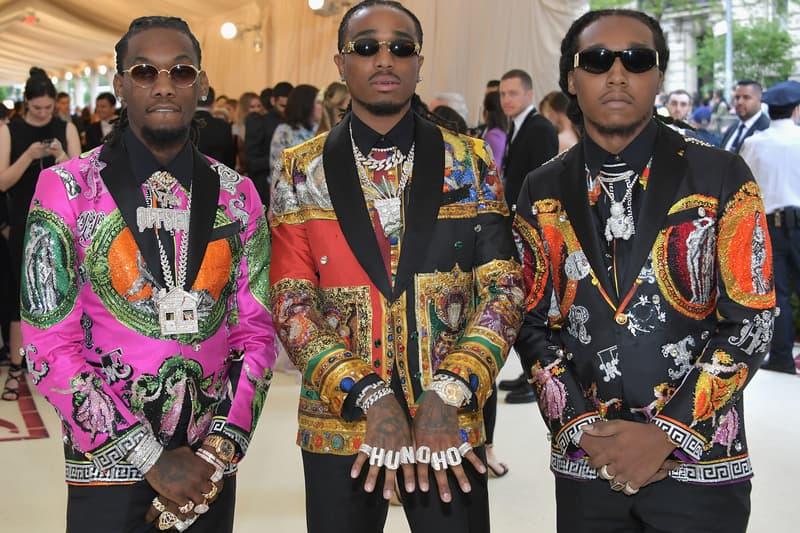 Migos Yung Rich Nation Lawsuit Takeoff offset Quavo clothing sues YRN