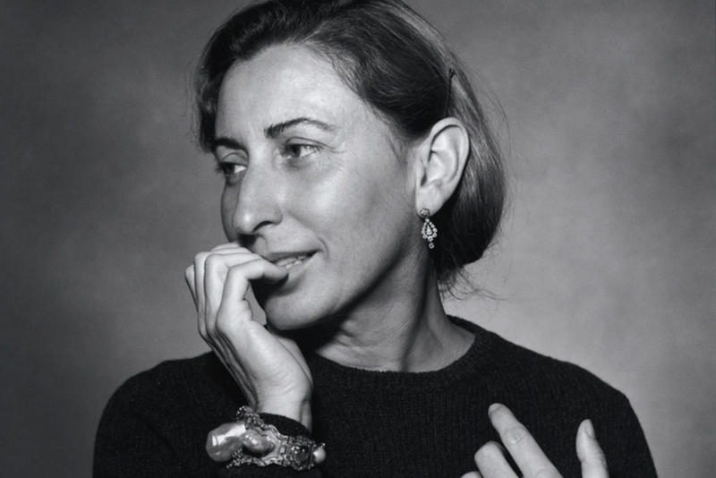 Miuccia Prada british fashion council outstanding achievement award 2018 awards
