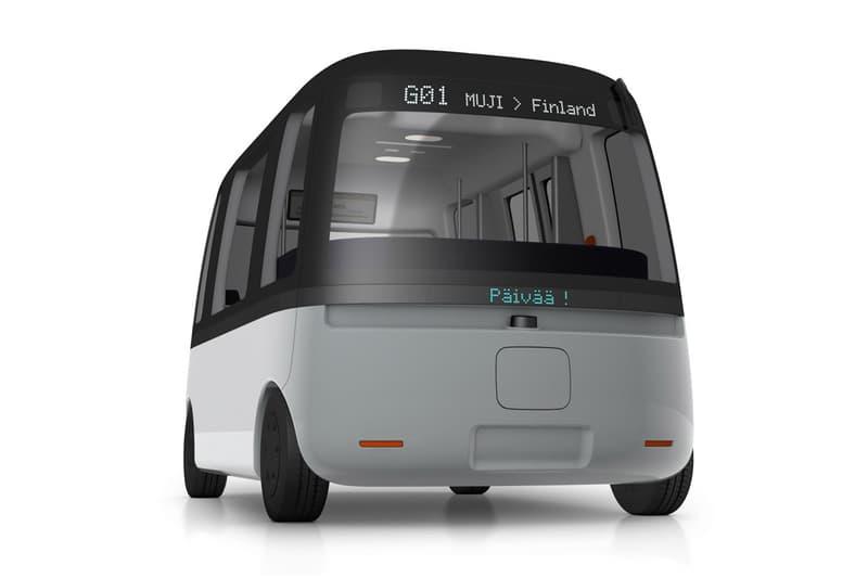 muji dirverless shuttle bus sensible 4 finland autonomous vehicles technology